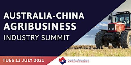 Australia-China Agribusiness Industry Summit tickets