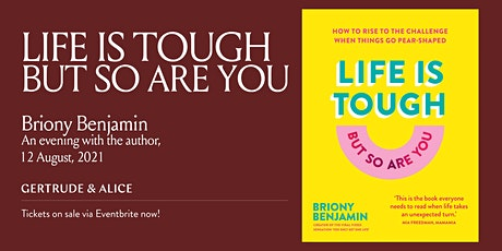 AN EVENING WITH BRIONY BENJAMIN tickets