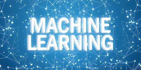 4 Weeks Machine Learning Beginners Training Course Santa Clara tickets