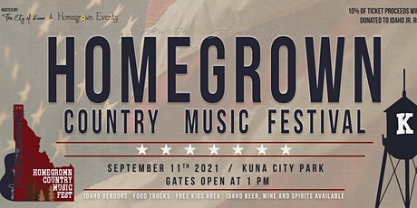 HomeGrown Country Music Festival 2021 tickets