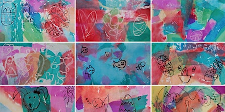 School Holiday Activity: Tissue Paper Painting at Foster Library tickets