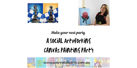 Live Online Social Artworking, Checkmate tickets
