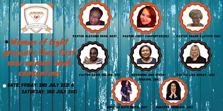 UNLIMITED GOD CONVENTION (online delegate) tickets