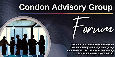 Condon Advisory Group FORUM tickets