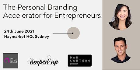 The Personal Branding Accelerator for Entrepreneurs tickets