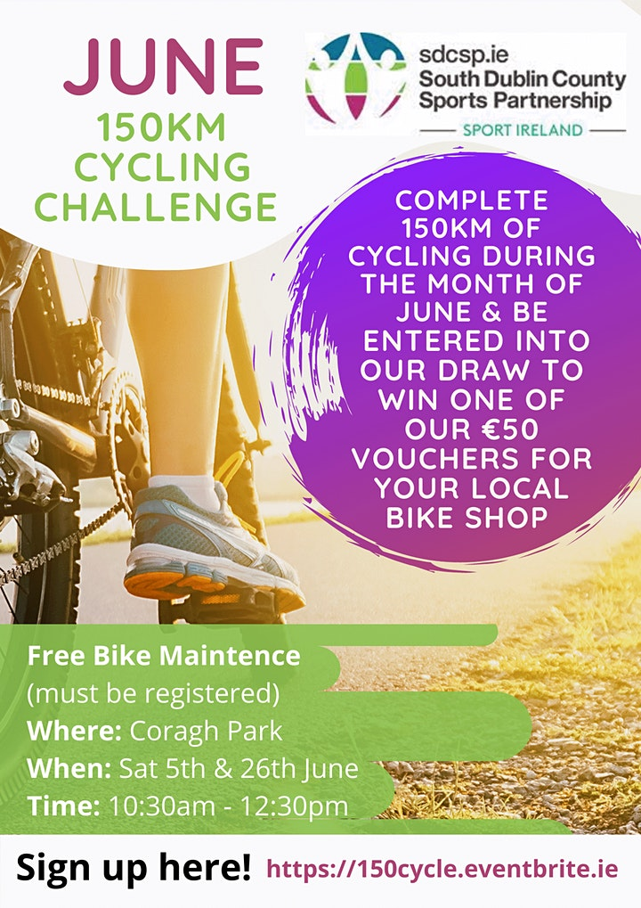 June 150km Cycling Challenge image