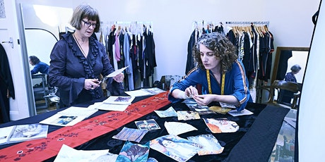 *Postponed* Exclusive fundraising scarf design workshop with Susan Dimasi tickets