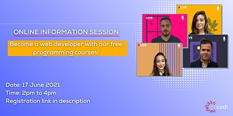 Online Student Event: Information Session for Codi Beirut & Tripoli tickets