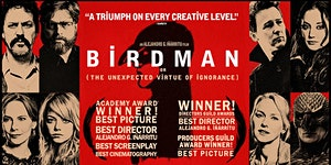CineSocial film screening: Birdman, or The Unexpected...