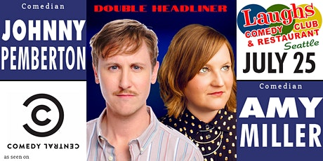 Amy Miller and Johnny Pemberton tickets