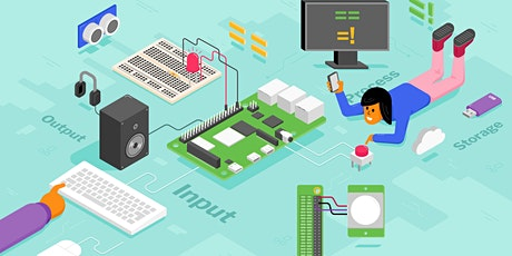 Physical Computing with Raspberry Pi: Online course snippet tickets