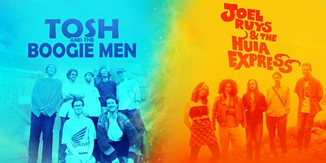 Tosh and the Boogie Men  + Joel Ruys & the Huia Express LIVE tickets