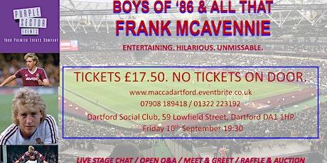 Dartford Hammers - Frank McAvennie tickets