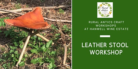 Leather Stool Making Workshop tickets