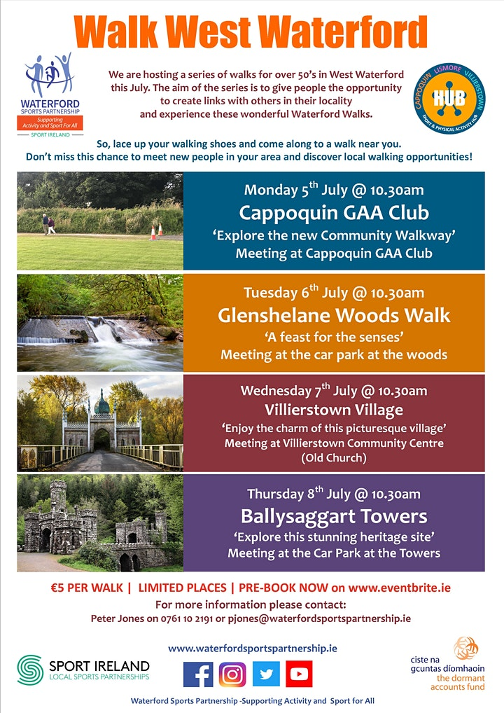 Walk West Waterford - Cappoquin - July 2021 image