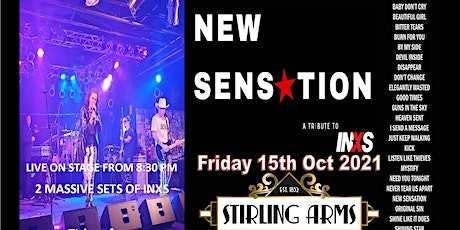 New Sensation Live at The Stirling Arms Guildford tickets