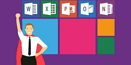 eLearning workshop: Microsoft Office tickets