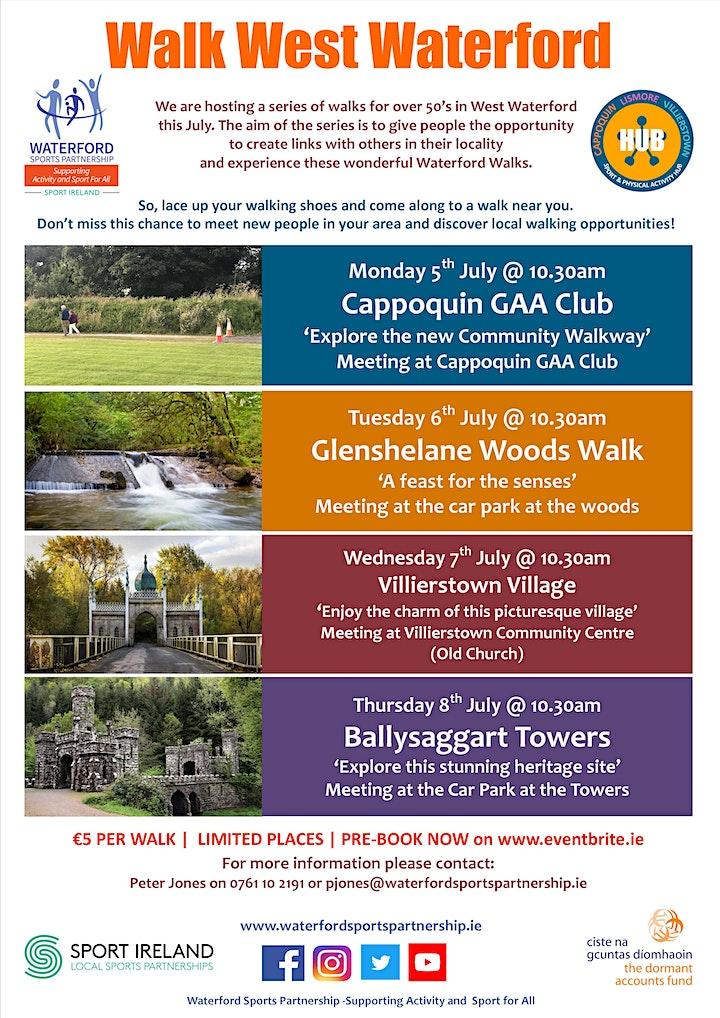Walk West Waterford - Villierstown Village - July 2021 image