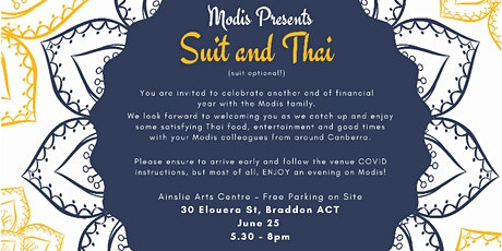 Suit and Thai (Suit Optional!) tickets
