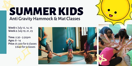 Summer Kids Anti Gravity Hammock and Mat classes tickets