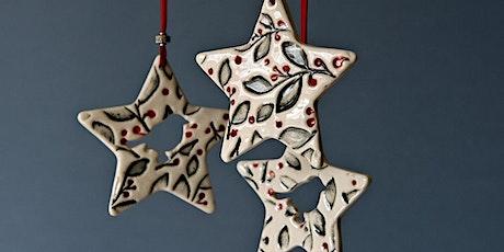 Campo de Flori  Christmas Workshop- Ceramic Ornaments tickets