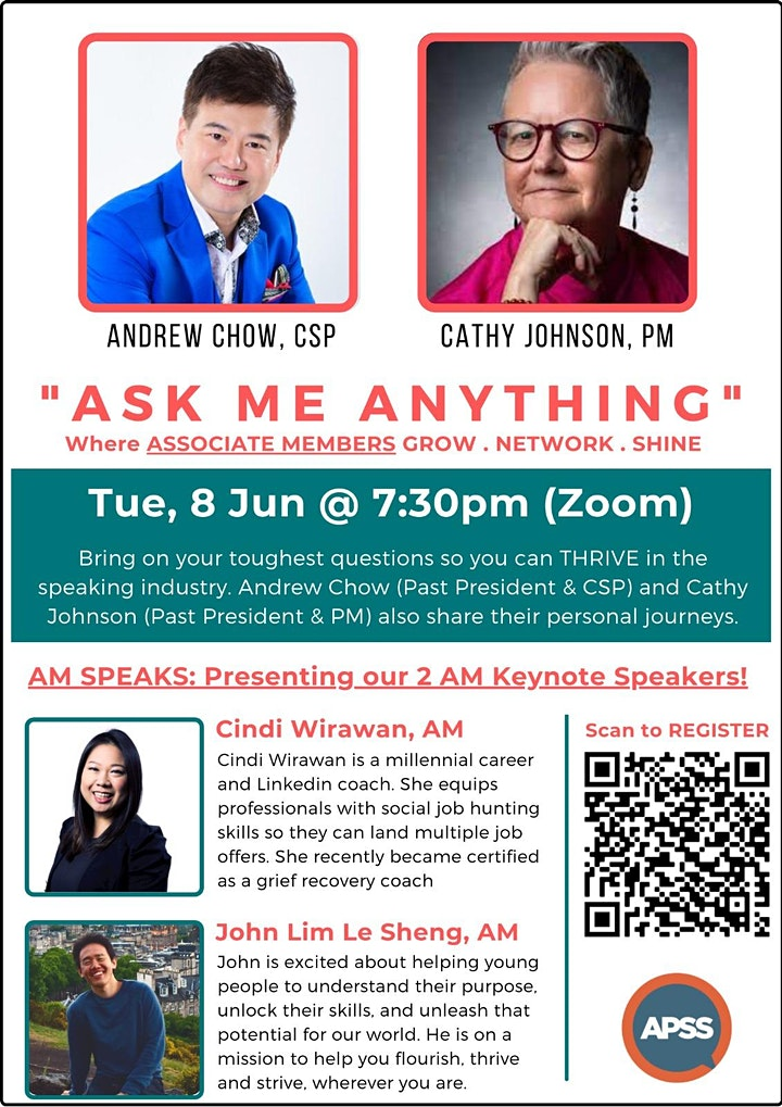 Ask Me Anything (Associate  Members Only) image