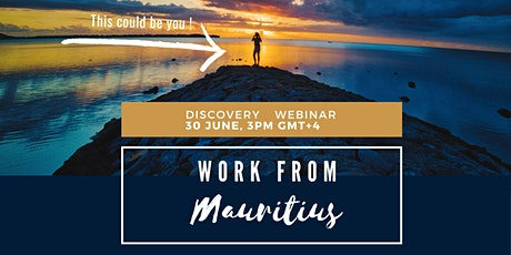Work from Anywhere - Discover Mauritius! tickets