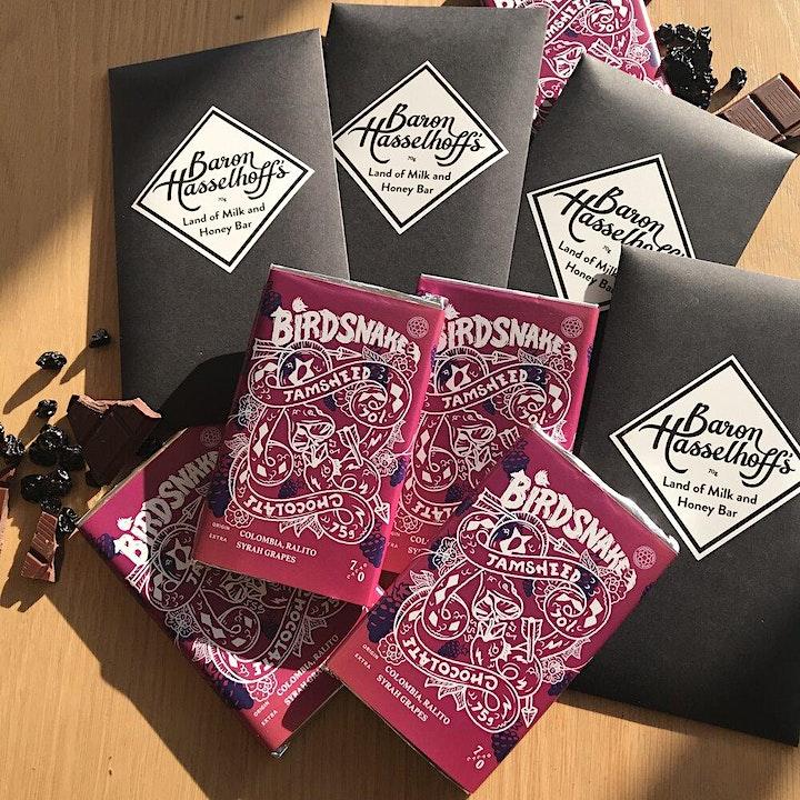 Chocolate Tasting Session: featuring Birdsnake & Baron Hasselhoff Chocolate image