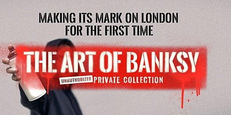 Art of Banksy Private View, Dinner & Drinks tickets