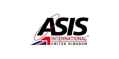 ASIS UK Chapter - Summer Seminar tickets