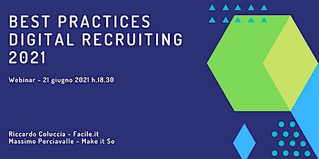 "Webinar ""Best practices digital recruiting 2021"" tickets"