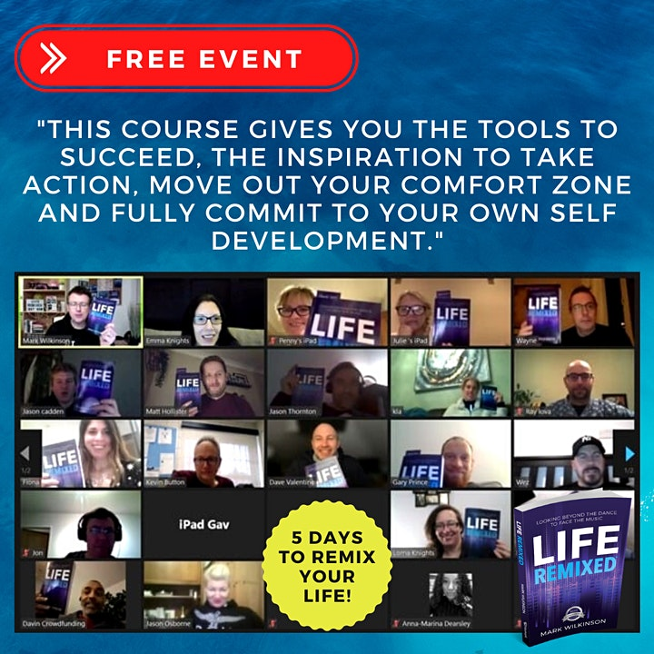 5 Days To Remix Your Life image