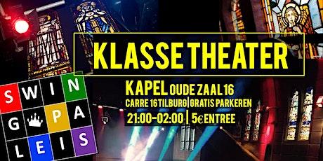 Swingpaleis Klassetheater 23 okt - Tilburg tickets