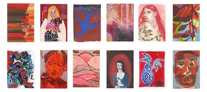 Art on a Postcard Summer Auction - Private View image