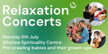 Relaxation Concerts | 5th July : Martin Harwood (guitar, fiddle and vocals) tickets