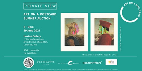 Art on a Postcard Summer Auction - Private View tickets
