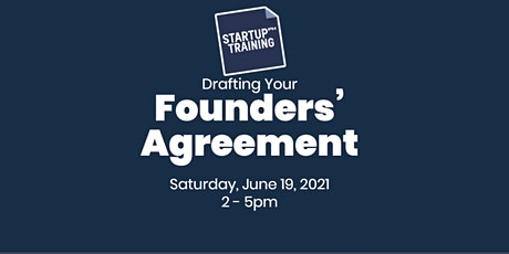 Drafting a Founders' Agreement tickets
