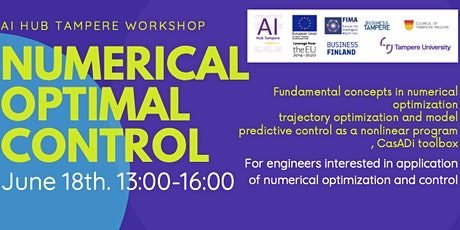 AI Hub Tampere Workshop on Numerical Optimal Control tickets