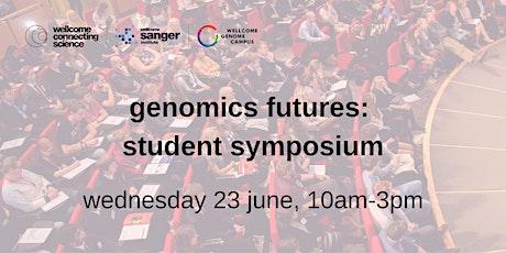 genomics futures: student symposium tickets