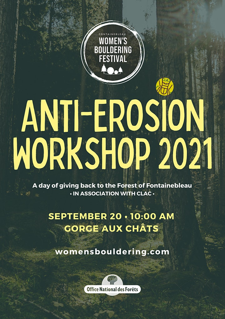 Anti-Erosion Workshop with the ONF | Women's Bouldering Festival 2021 image