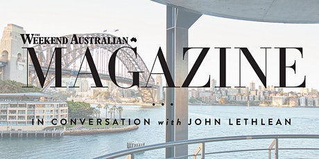 In Conversation with The Weekend Australian Magazine tickets