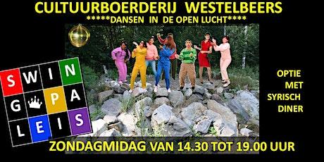 Swingpaleis Cultuurboerderij 29 mei 2022 - Westelbeers tickets