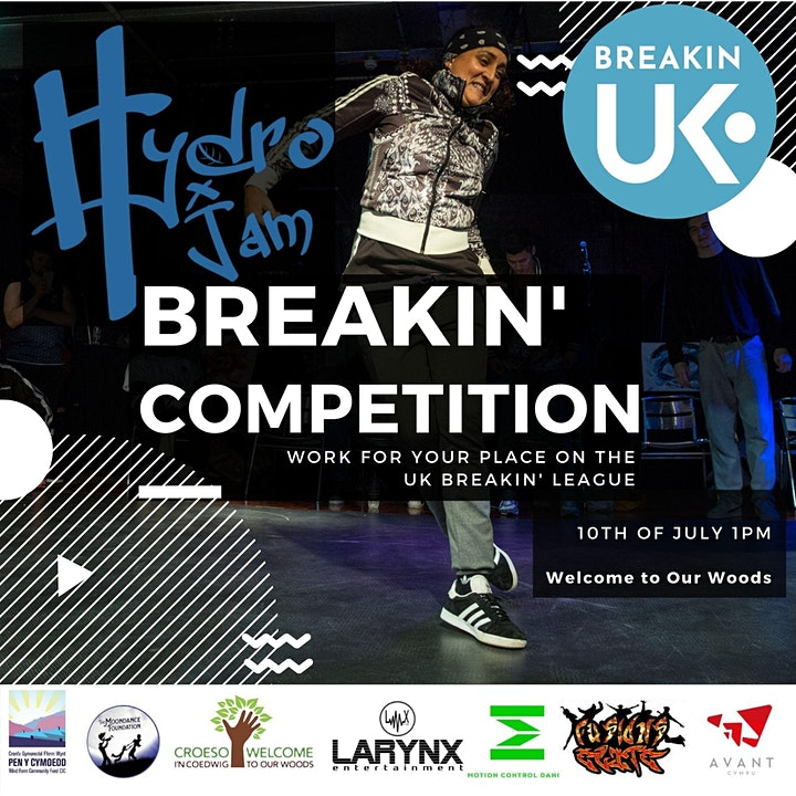 Hydro Jam Breakin' Competition / Cystadleuaeth image