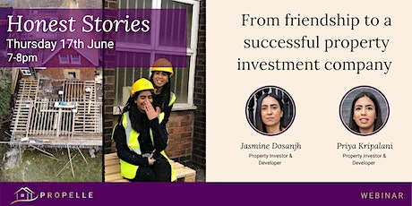 Honest Stories   From friendship to a successful property company. tickets