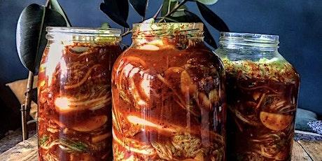 Platewell Vegan Cooking Class l Tarryn's Kimchi Fermentation Workshop tickets