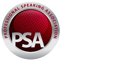 PSA Ireland June 2021 Event – Winning With Speaking tickets