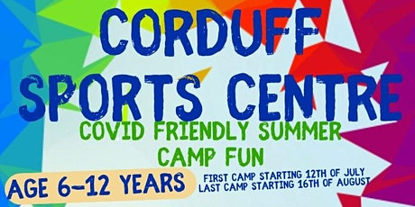 Corduff Sports Centre Mixed Sports Camp 10-12yrs tickets
