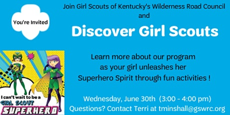 Girl Scouts are Superheroes - Northern Kentucky tickets