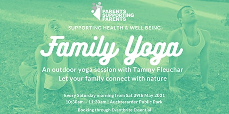 Family Outdoor Yoga Sessions - Auchterarder tickets