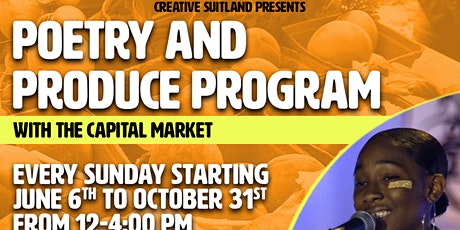 Poetry & Produce Program at Creative Suitland tickets